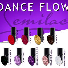 DANCE FLOW Semilac UV&LED Gel Polish – SELECT COLOUR