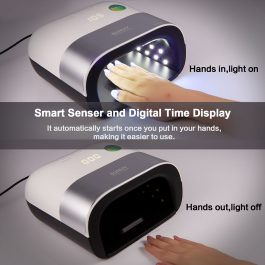 SMART UV LED NAIL LAMP 48W