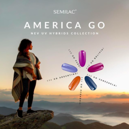 AMERICA GO Semilac UV&LED Gel Polish – SELECT COLOUR