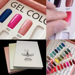 NAIL DISPLAY BOOK