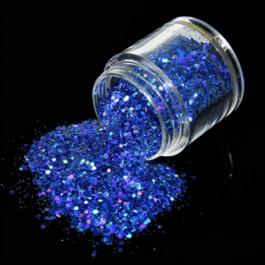 HOLOGRAPHIC NAIL GLITTER – ROYAL BLUE