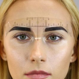 EYEBROW RULER