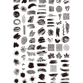 STAMPING PLATE – XL10 (Extra large)