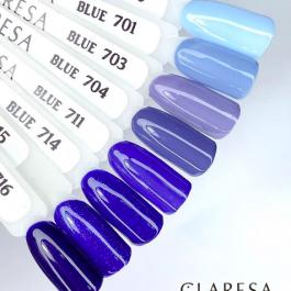 Claresa BLUE  UV/LED gel polish – select colour