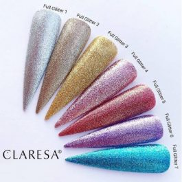 Claresa FULL GLITTER  UV/LED gel polish – select colour