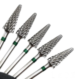 CARBIDE DRILL BIT (GREEN) L202 (for left handed)
